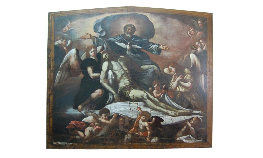 dipinti-SS-Trinita-e-Angeli - Albergo dei Poveri Genova