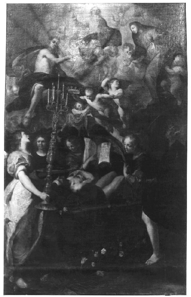 Morte del giusto - Giovanni Andrea De Ferrari- Albergo dei Poveri Genova
