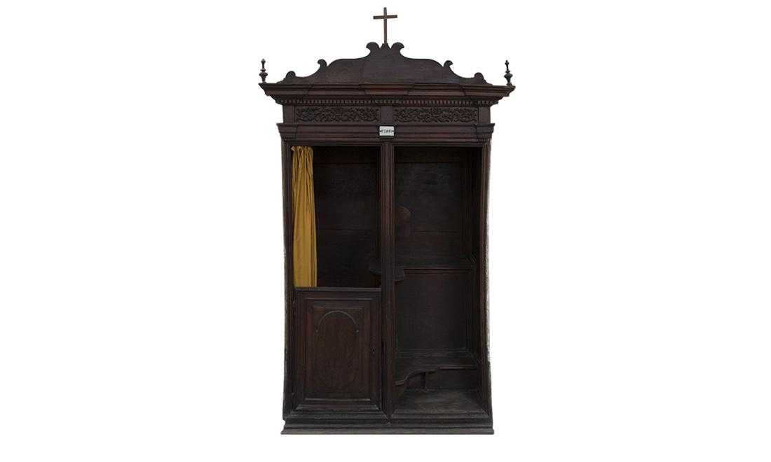 mobili-confessionale_02 - Albergo dei Poveri