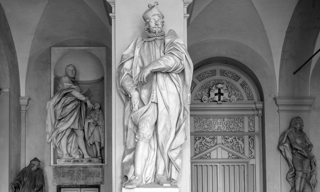 statua_joanni-francisco-invrea_02 - Albergo dei Poveri Genova