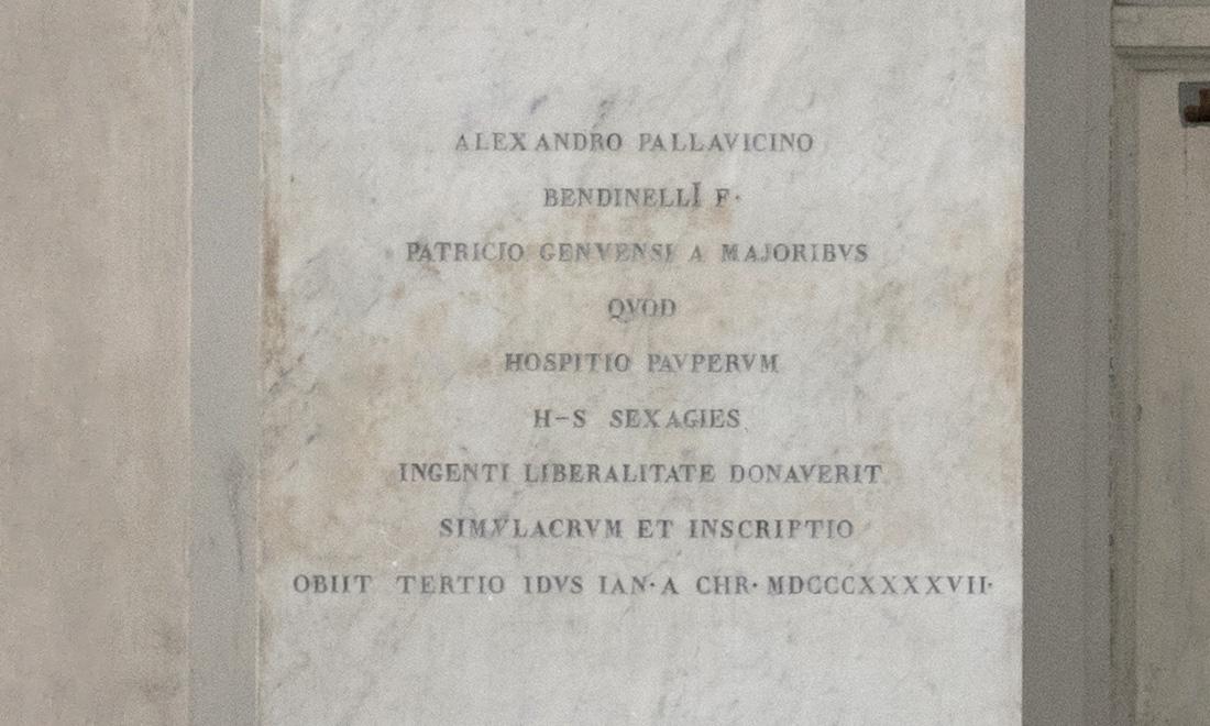 statue_alexandro-pallavicino_02 - Albergo dei Poveri Genova