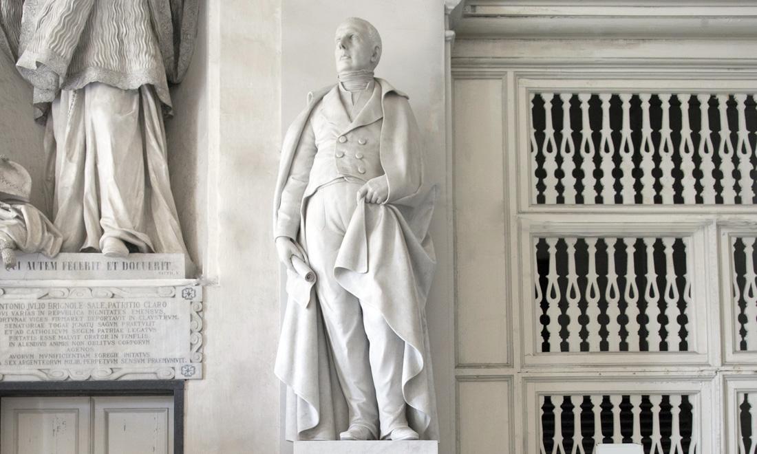 statue_alexandro-pallavicino_03 - Albergo dei Poveri Genova