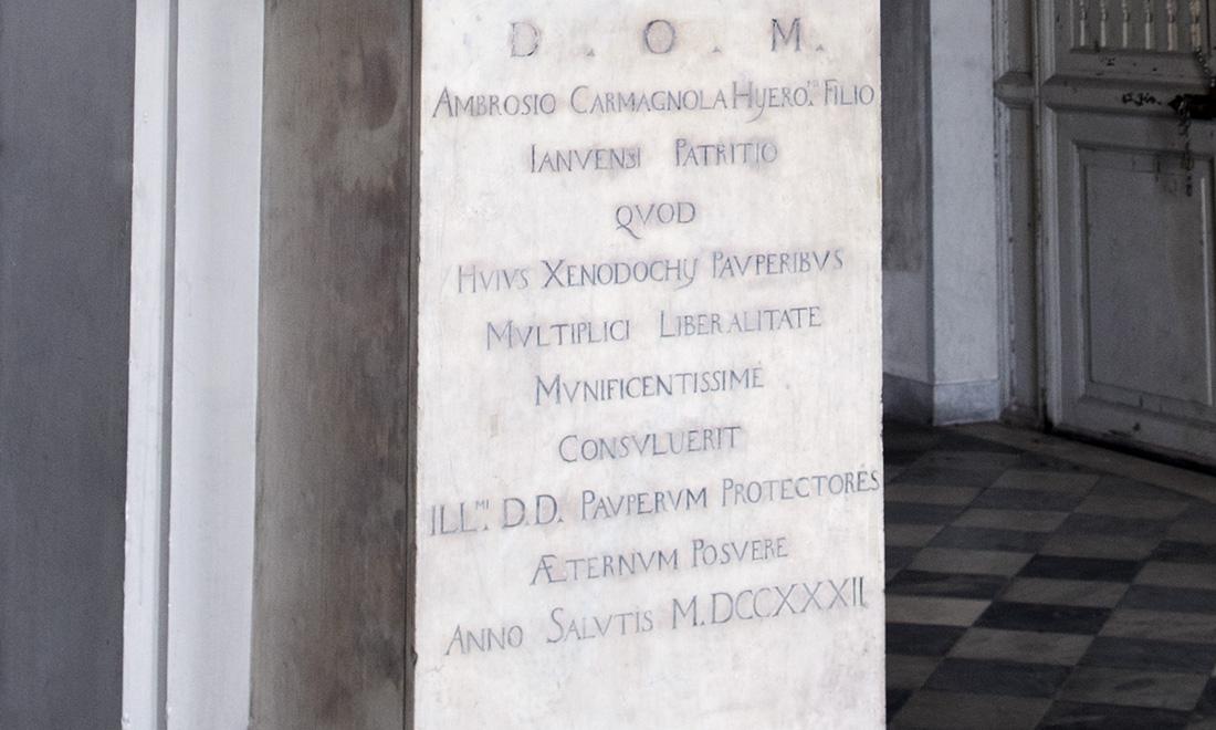 statue_ambrosio-carmagnola_03 - Albergo dei Poveri Genova
