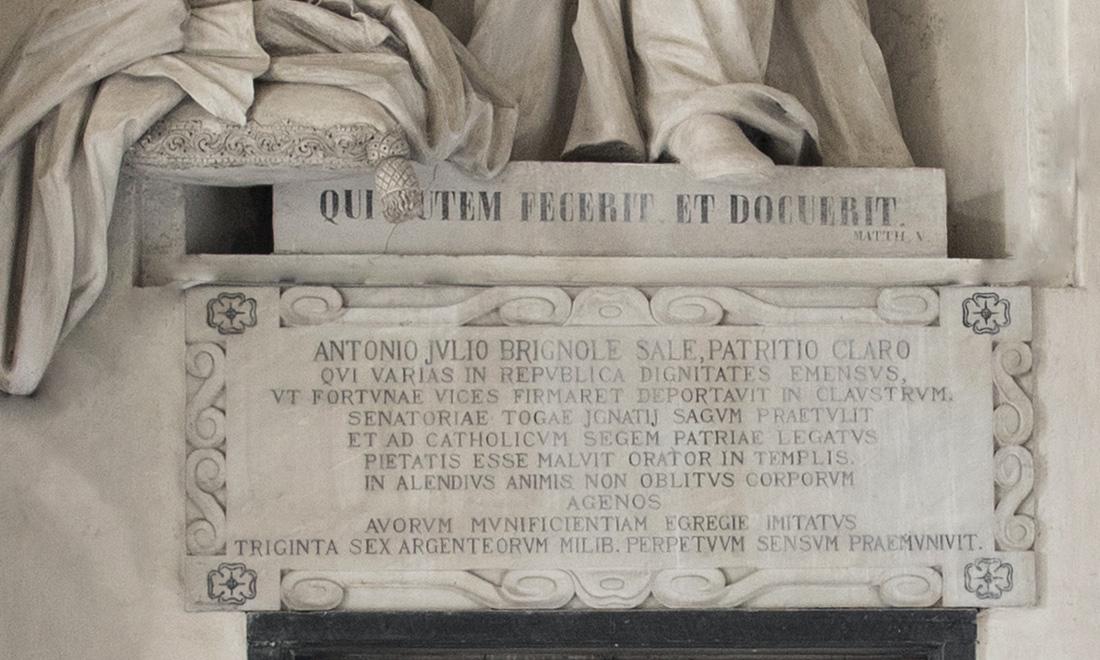 statue_antonio-julio-brignole-sale_03 - Albergo dei Poveri Genova