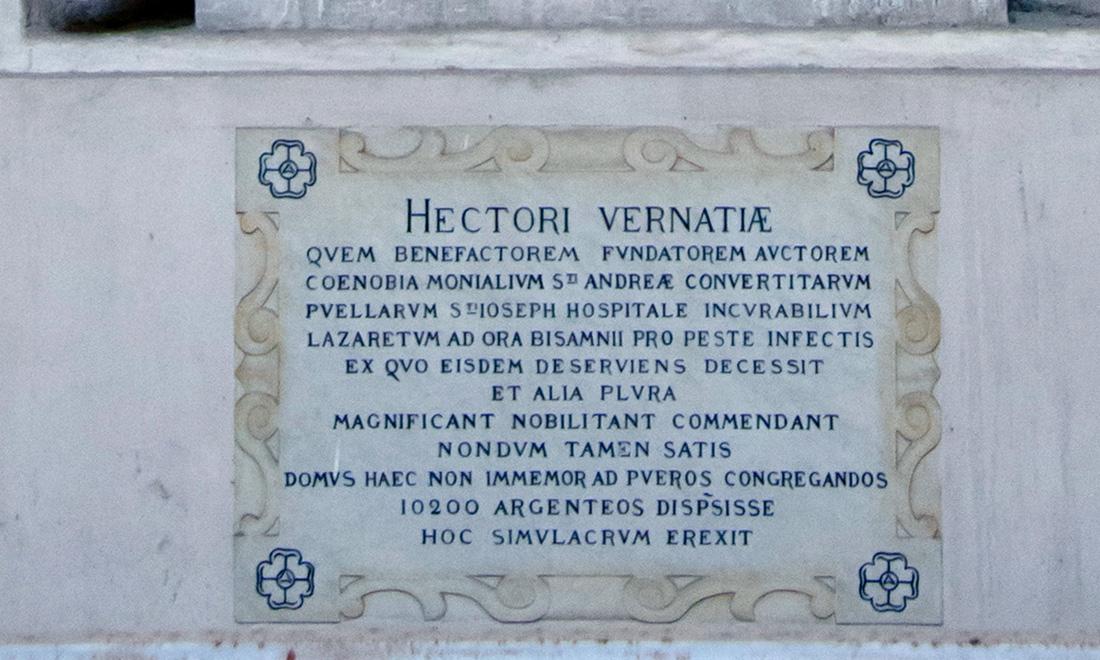 statue_ettore-vernazza_03 - Albergo dei Poveri Genova
