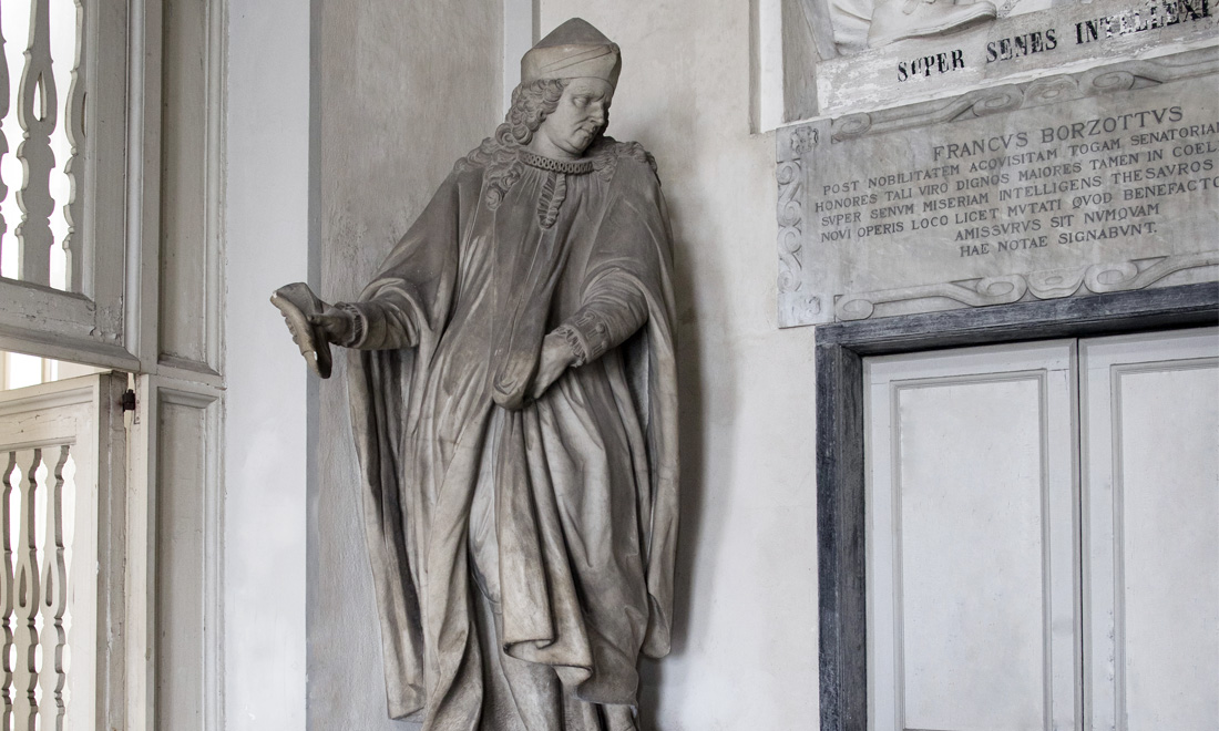 statue_franciscus-marci-aurelii-rebuffi_02 - Albergo dei Poveri Genova