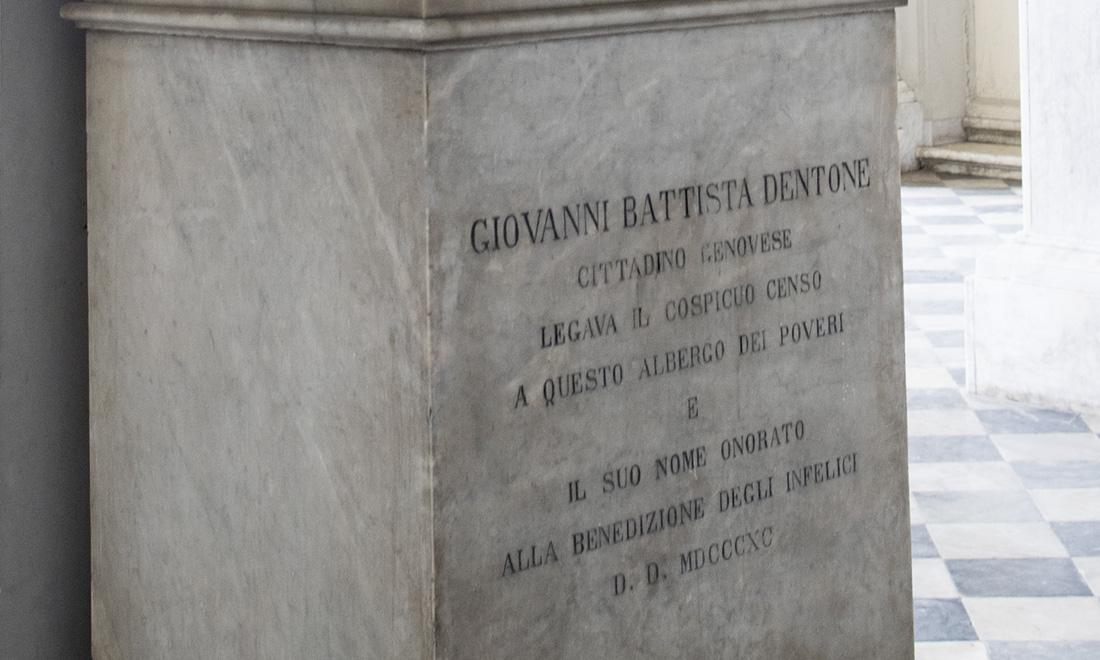 statue_giovanni-battista-dentone_03 - Albergo dei Poveri Genova
