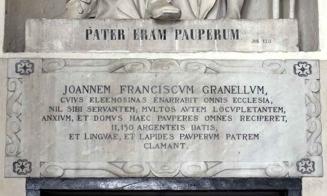 statue_joannem-franciscum-granellum_03 - Albergo dei Poveri Genova