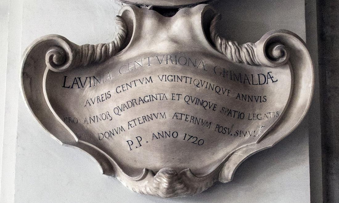 statue_lavinia-centuriona-grimaldae_02 - Albergo dei Poveri Genova