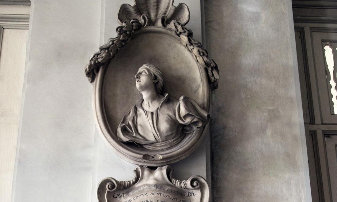 statue_lavinia-centuriona-grimaldae_03 - Albergo dei Poveri Genova