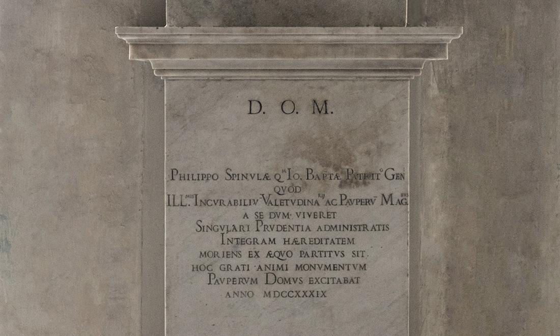 statue_philippo-spinulae_02 - Albergo dei Poveri Genova