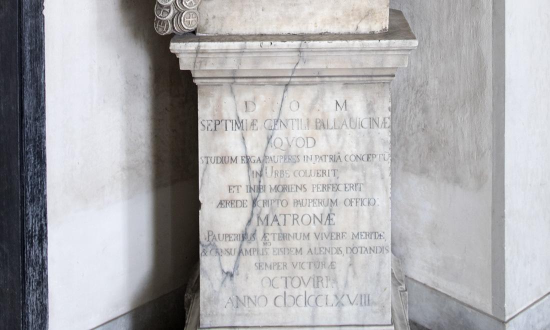 statue_spetimiae-gentili-pallavicinae_03 - Albergo dei Poveri Genova