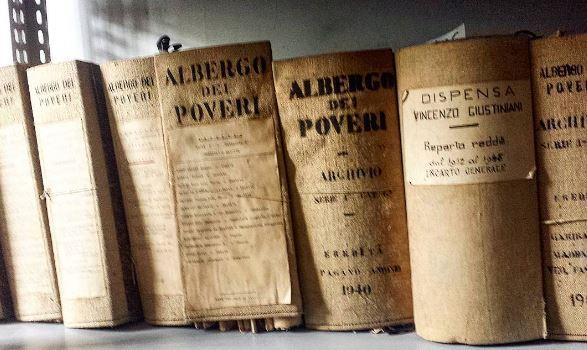 Albergo dei Poveri di Genova, manoscritti originali